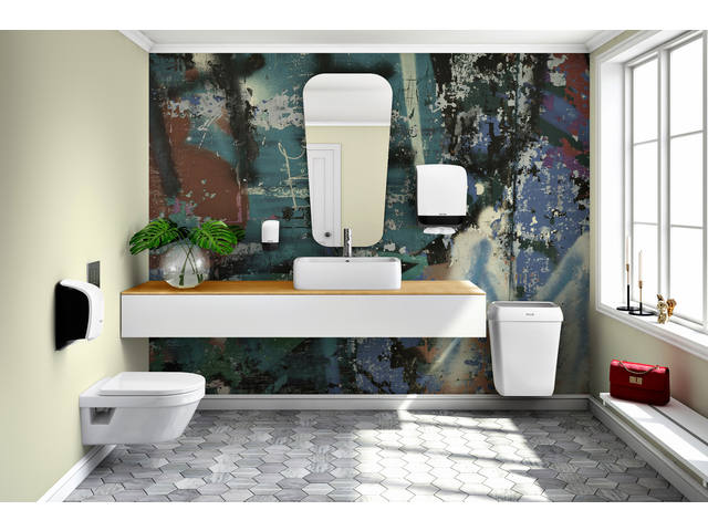 Dispenser Katrin 104582 toiletpapier doprol wit 5